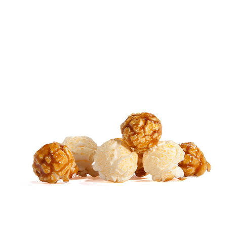 Poppington's Mix-Cheesy & Sweet Caramel Gourmet Popcorn - Poppington's Gourmet Popcorn