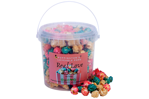 Share the Love Pail by Poppington's - Poppington's Gourmet Popcorn
