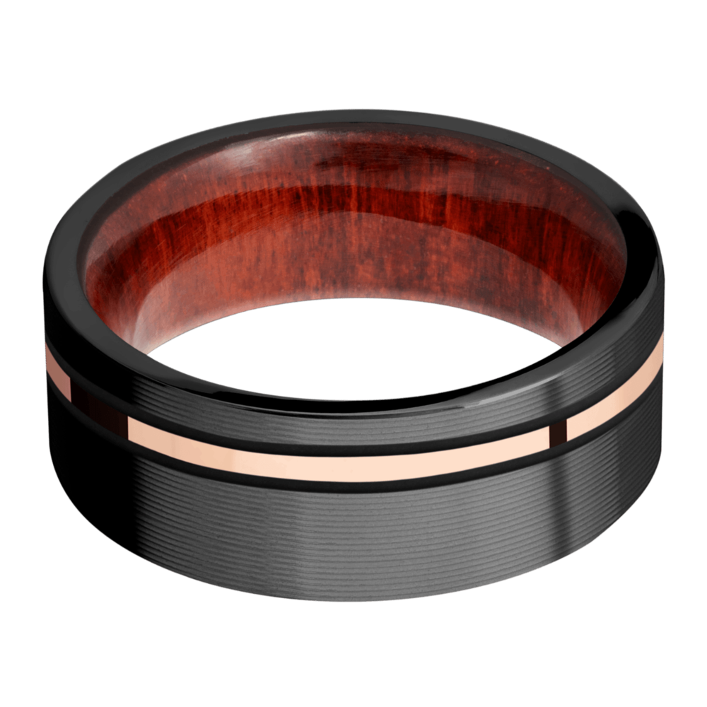 Hardwood Men's Wedding Bands