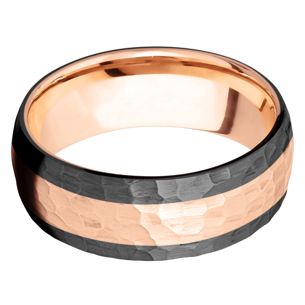 14K Gold Men's Wedding Bands