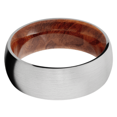 Asian Iron Wood Wedding Bands and Engagement Rings