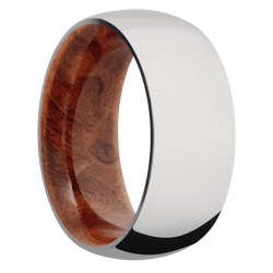 Ring with Asian Iron Wood Sleeve