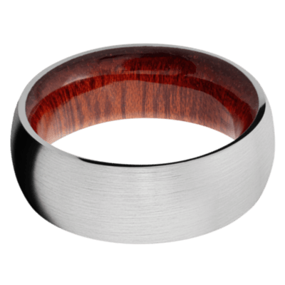 Blood Wood Wedding Bands and Engagement Rings