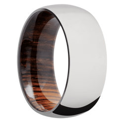 Ring with Cocobolo Sleeve