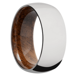 Ring with Koa Sleeve