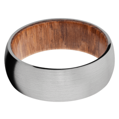 Leopard Wood Wedding Bands and Engagement Rings
