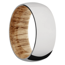 Ring with Natural Oak Sleeve
