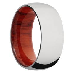Ring with Padauk Sleeve