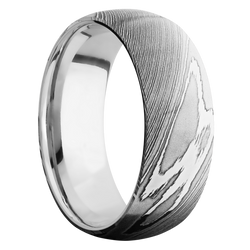 Ring with Platinum Sleeve