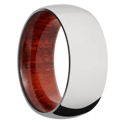 Ring with Red Heart Sleeve