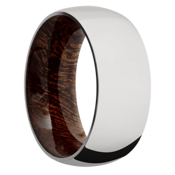 Ring with Sapele Sleeve