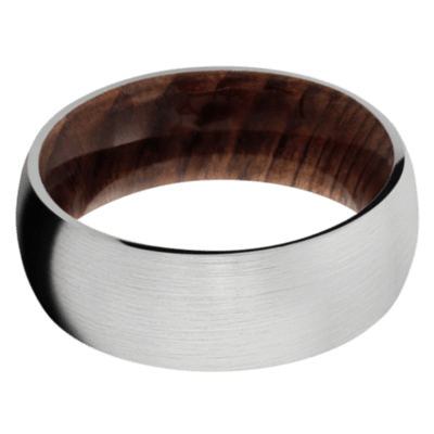 Sequoia Hardwood Wedding Bands and Engagement Rings
