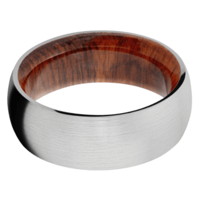 Snake Wood Wedding Bands and Engagement Rings