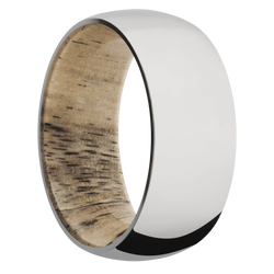 Ring with Spalted Tamarind Sleeve