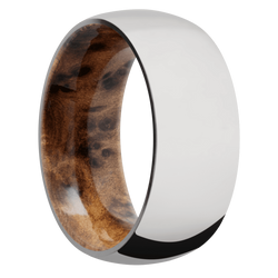 Ring with Thuya Burl Sleeve