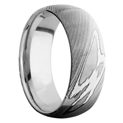 Ring with Titanium Sleeve