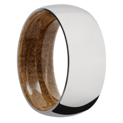 Ring with Whiskey Barrel Sleeve