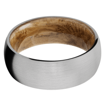 Whiskey Barrel Wood Wedding Bands and Engagement Rings