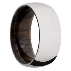 Ring with Ziricote Sleeve