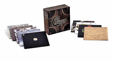 Chicago Quadio Box (9 Disc Blu-Ray Audio) By Chicago