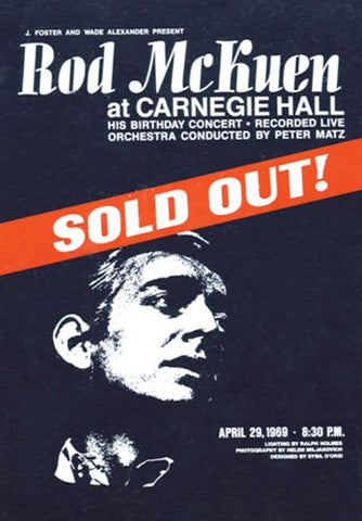 Sold Out At Carnegie Hall (Deluxe Edition) By Rod Mckuen (2013-02-26)