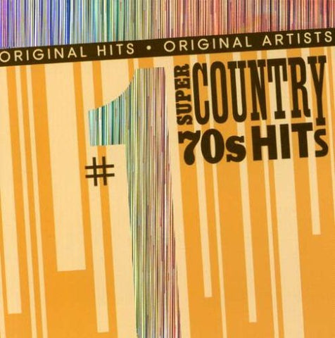 #1 Super Country 70'S Hits By #1 Super Country 70S Hits