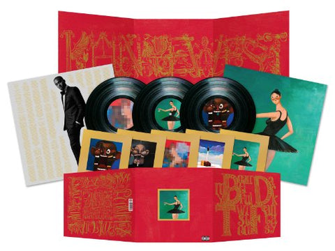 My Beautiful Dark Twisted Fantasy [3 Lp] By Kanye West