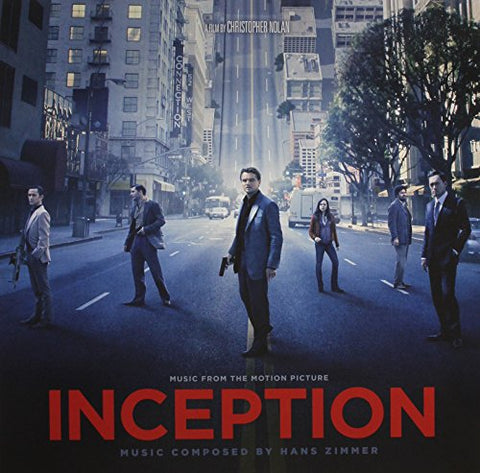 Inception (Music From The Motion Picture) (Clear-Colored Lp) By Hans Zimmer (2010-08-03)