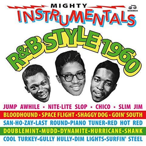 Mighty Instrumentals R&B-Style 1960 By Various Artists