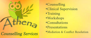 Athena Counselling Services logo banner