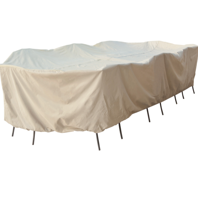 Oval/Rectangle 2XL Table & Chairs Protective Cover