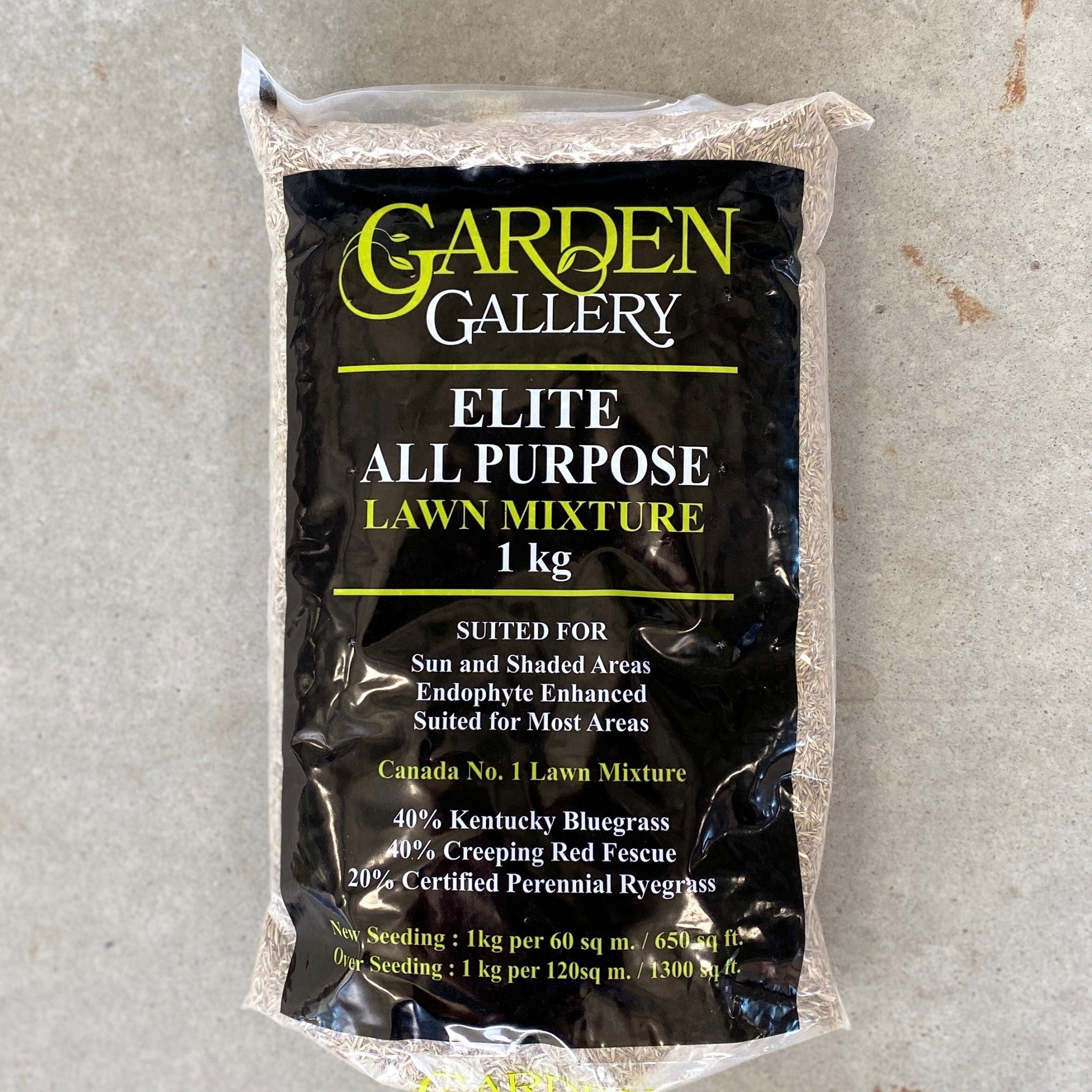 Garden Gallery Elite All Purpose Natural Grass Seed