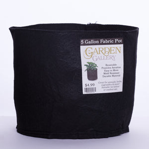 Garden Gallery Fabric Pots (Various Sizes)