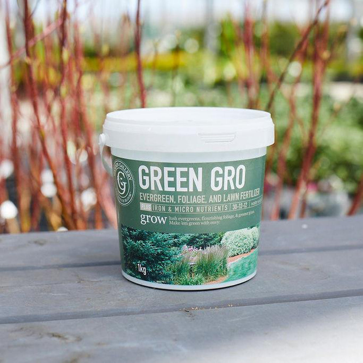 Garden Gallery Green Gro (Evergreen, Foliage & Lawn Fertilizer) (1 kg) (4671000903785)