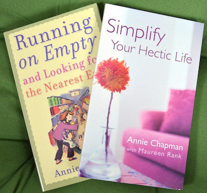 Running on Empty & Simplify Your Hectic Life