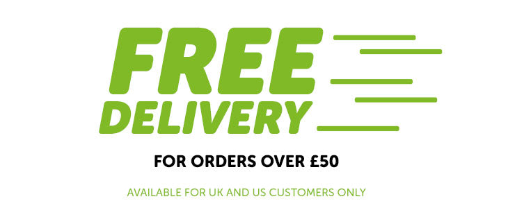 FREE DELIVERY over £50