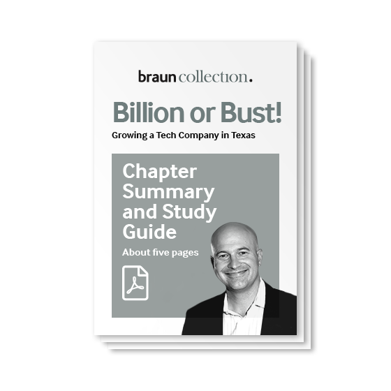 Billion or Bust! – Chapter Summary and Study Guide