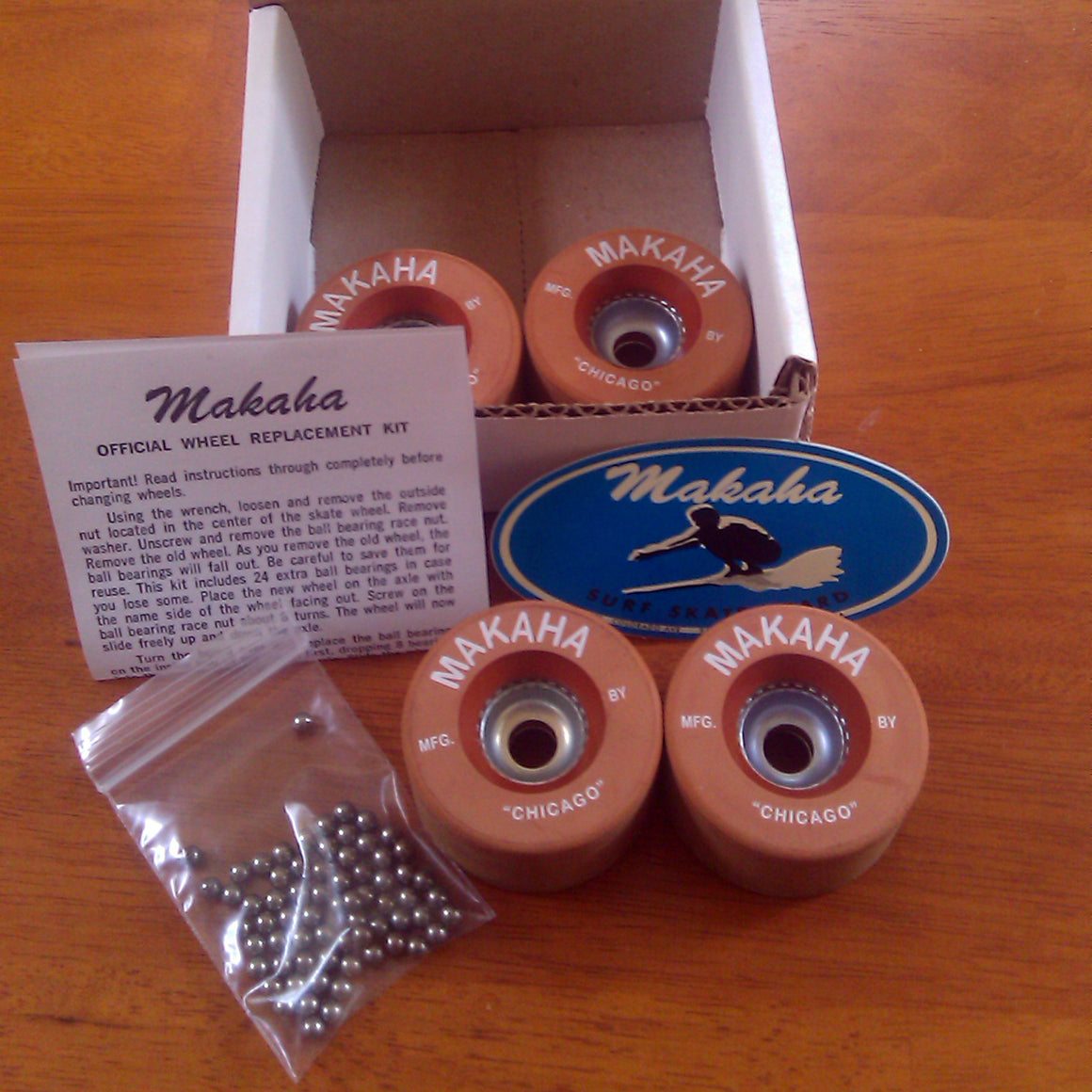 Makaha Clay Wheel Set