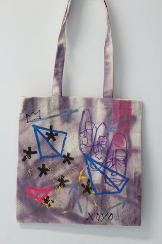 Purple Places :: art tote 4 good X Chris Furbay