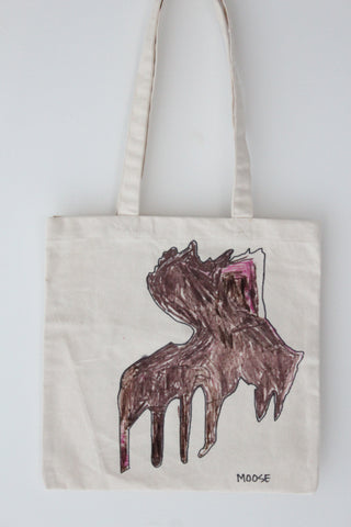 Moose :: art totes 4 good X John Discatio