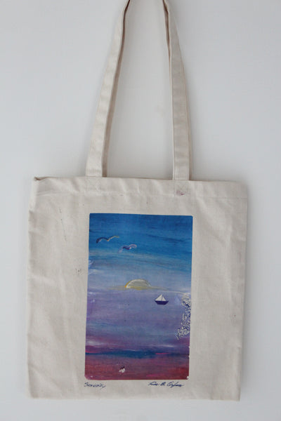 Serenity :: art tote 4 good X Lisa B. Corfman