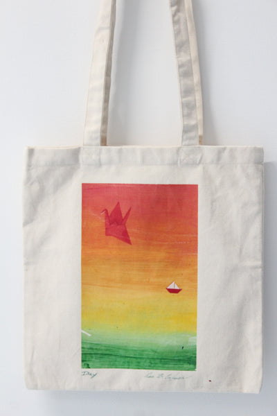 Night & Day :: art tote 4 good X Lisa B. Corfman