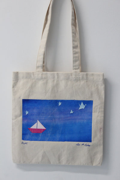 Night & Day :: art totes 4 good X Lisa B. Corfman