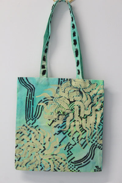 Chaotic Peace of Mind :: art tote 4 good X Phoebe Crazypants Warner