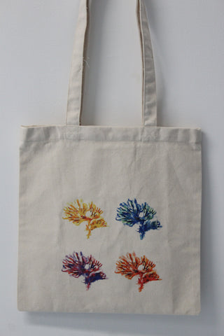 Corals :: art tote 4 good X Stephen Levin