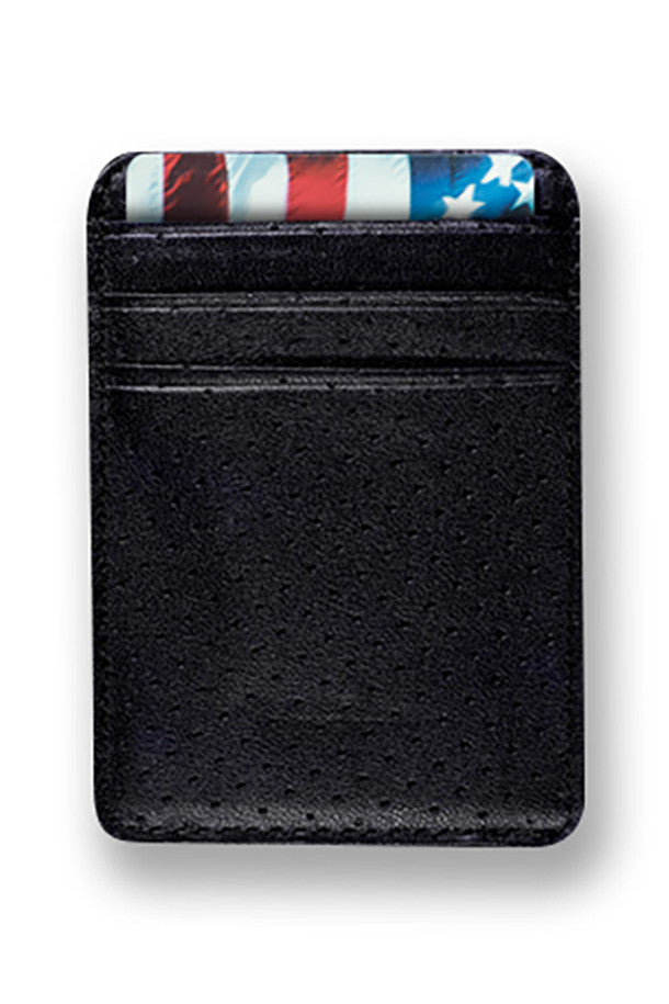 Race Car Leather Credit Card Holder
