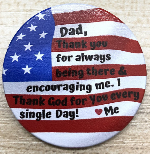 Popsocket - Dad Flag Thank You for Encouraging Me