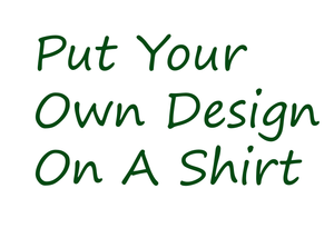 Custom Printed High Quality T-Shirt with Your Own Design: Email for Bulk Price Quote