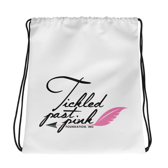 Tickled Past Pink Foundation - Drawstring bag