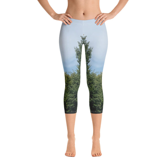 Georgia Collection: Church Steeple Capri Leggings